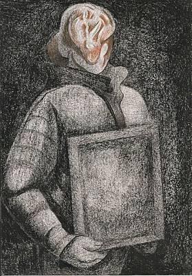 Poster Child Print by Al Goldfarb