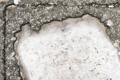 Pothole Print by Tom Gowanlock