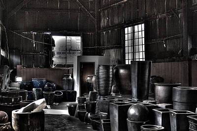 Ceramics Photograph - Pottery Warehouse by David Patterson