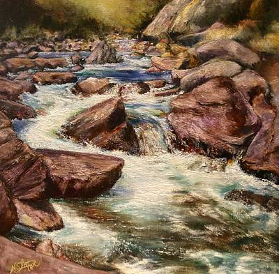Poudre River Print by Nicole Slater