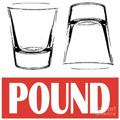 Pound Print by Edward Fielding