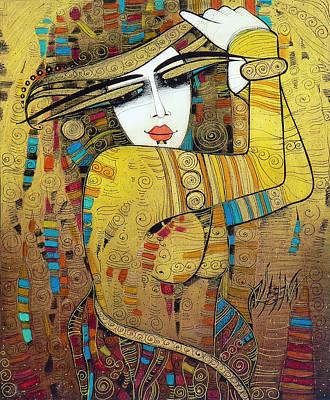 Painting - Poupoupidou by Albena Vatcheva