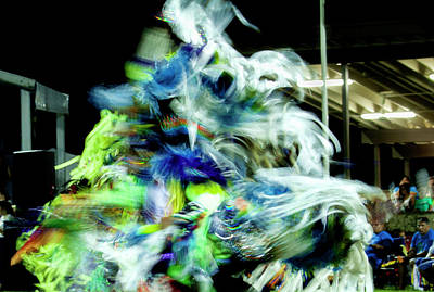 Photograph - Pow Wow Fancy Dancer by Cynthia Dickinson