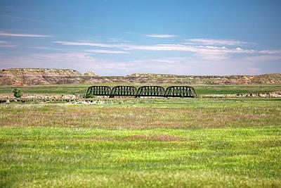 Old Country Roads Photograph - Powder River Bridge by Todd Klassy