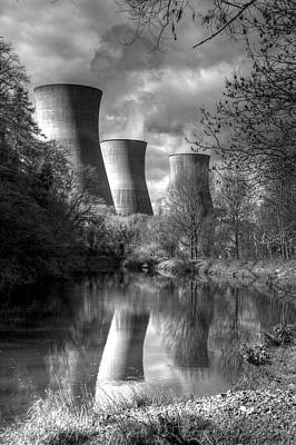 Power Station Print by David French