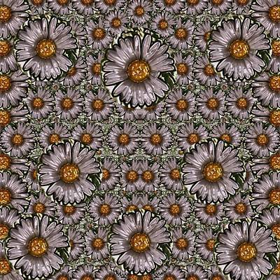 Power To The Big Flower Print by Pepita Selles