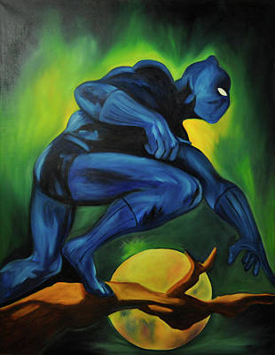 Power To The Panther Original by Mitchell Todd