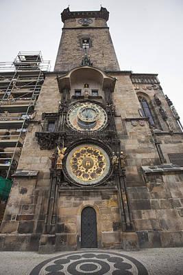 Prague Astronomical Clock Print by Andre Goncalves