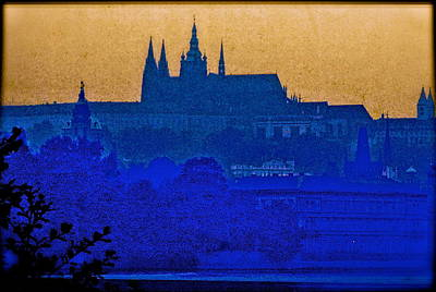 Prague At Twilight Original by Ira Shander