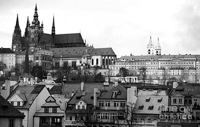 Prague Photograph - Prague Castle by John Rizzuto