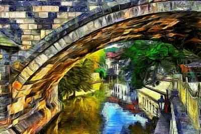 Prague Digital Art - Prague by Jean-Marc Lacombe