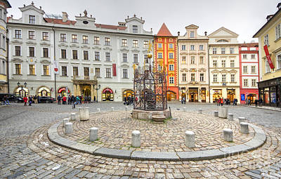 Prague Print by Nichola Denny