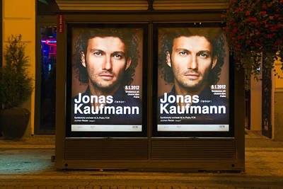 Billboards Photograph - Praha Bus Station by Stelios Kleanthous