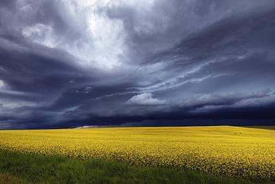 Prairie Storm Photograph - Prairie Storm by David Buhler