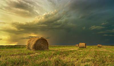 Prairie Storm Photograph - Prairie Storms by Stuart Deacon