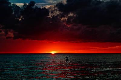 Praising The Sun Print by Riccardo Mantero