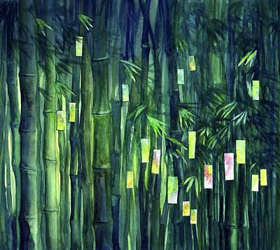 Prayer Tree IIi Print by Janet Chui