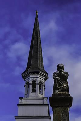 Angel Blues Photograph - Praying Angel by Garry Gay