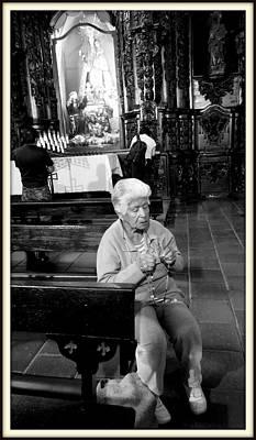 Praying Print by Daniel Gomez