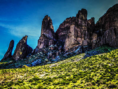 Sonoran Desert Photograph - Praying Hands Formation by Roger Passman