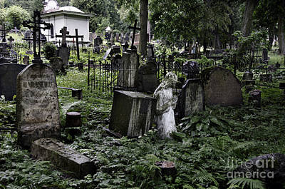 Vilnius Photograph - Praying Statue In The Old Cemetery by RicardMN Photography