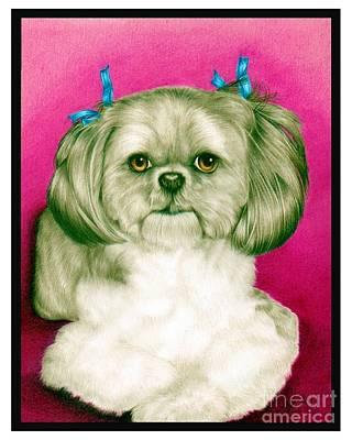 Precious Girl Print by Sheryl Unwin
