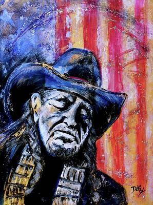 Precious Metals, Willie Americana Original by Debi Starr