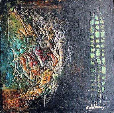 Acrylic Painting - Precious4 by Farzali Babekhan