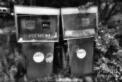 Premium Gas Photograph - Premium And  Regular In Paradise by David B Kawchak Custom Classic Photography