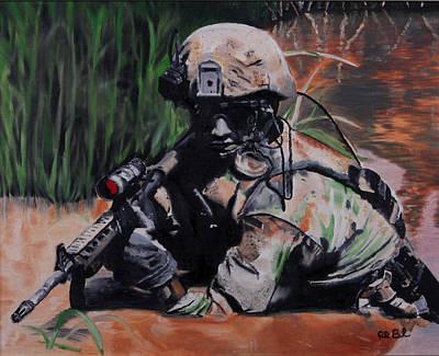 Moral Painting - Prepared To Die by Ruben Barbosa