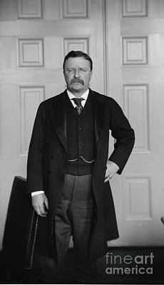 President Theodore Roosevelt Print by Celestial Images