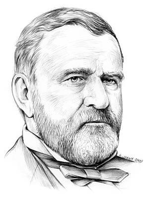 President Ulysses S Grant Print by Greg Joens