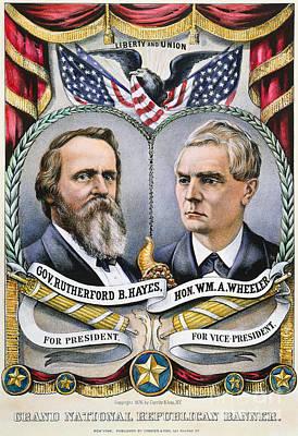 Cornucopia Photograph - Presidential Campaign, 1876 by Granger