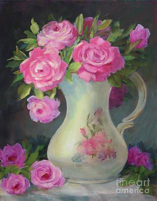 Pretty And Pink Original by Sue Cervenka