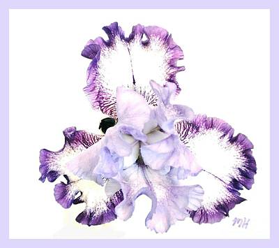 Pretty Baby Iris Original by Marsha Heiken