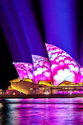 Vivid Festival Photograph - Pretty In Pink by Az Jackson