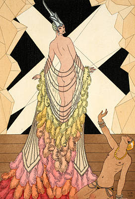Sex Slaves Painting - Pride by Georges Barbier