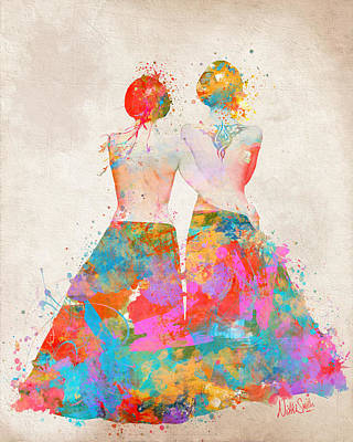 Lesbian Digital Art - Pride Not Prejudice by Nikki Marie Smith