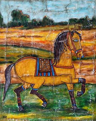 Rain Ririn Painting - Pride by Rain Ririn
