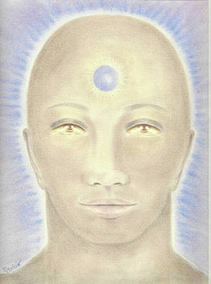Priest Of Atlantis Print by K S Rankin