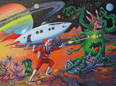 Primary Mission Cancelled Original by Matthew Pinkey