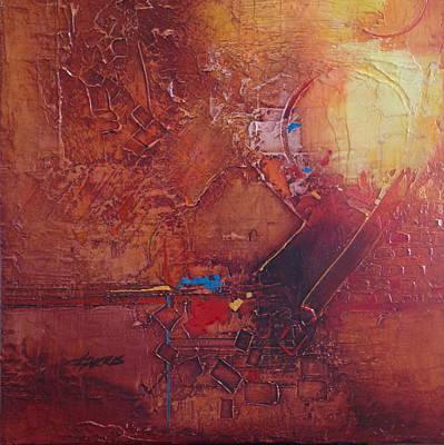 Painting - Primarysquared by Helen Harris