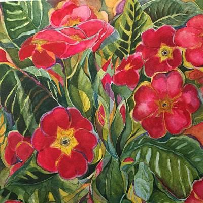 Primrose Print by Lynne Bolwell