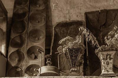 Primus Stove And Old Vases Print by Iordanis Pallikaras