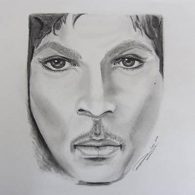 Harlem Drawing - Prince Tribute by Rosalie Vega