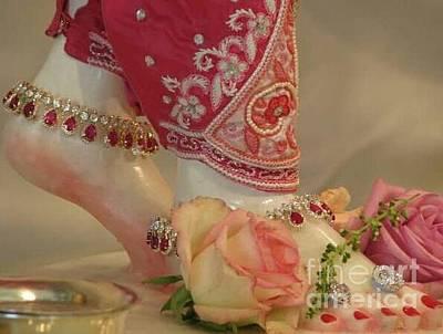 Ankle Bracelet Photograph - Princess Feet by Cindy  Riley