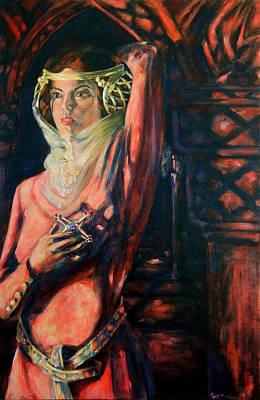 Minotaur Painting - Princess Isabella by David Matthews