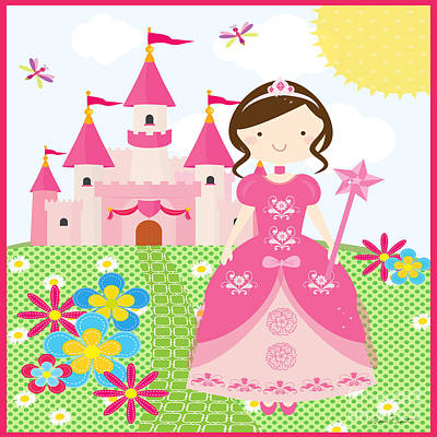 Ball Gown Digital Art - Princess-jp3009 by Jean Plout