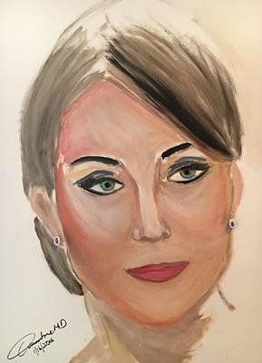 Kate Middleton Painting - Princess Kate by Cleofe Guangko