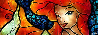Anderson Digital Art - Princess Of The Seas by Mandie Manzano